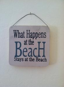 BeachPlaque
